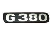 LETREIRO G380 Sc S5 MODERNO 331