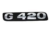 LETREIRO G420 Sc MODERNO 428
